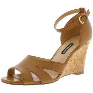 NWB Nine West Lilly Wedge Sandals Sz 7.5